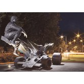 Ronnie Peterson Skulptur av Richard Brixel